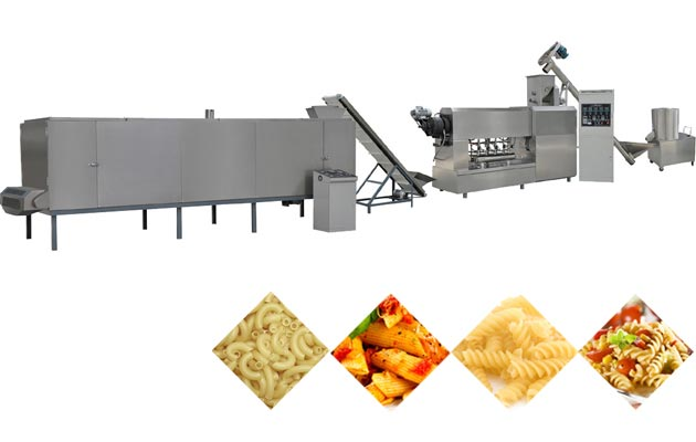Multifunctional Macaroni Pasta Production Line