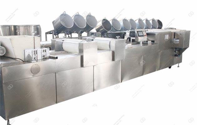 Full Automatic Peanut Brittle Bar Production Line