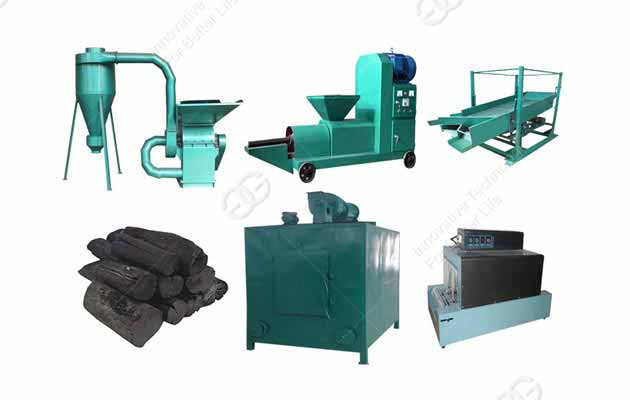 Factory competitive price charcoal briquette machine