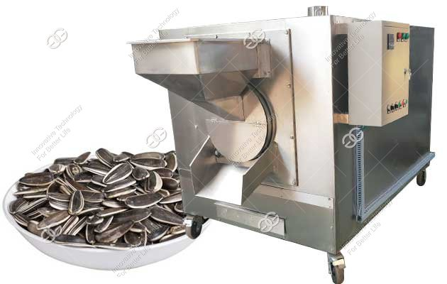 Stainless Steel Cocoa Bean Roasting Machine|Melon Seeds Roaster 180KG/H