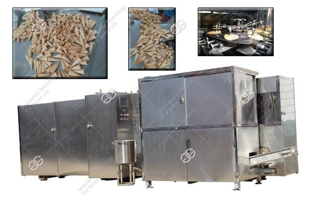 Commercial Ice Cream Waffle Cone Maker--Gelgoog Machinery