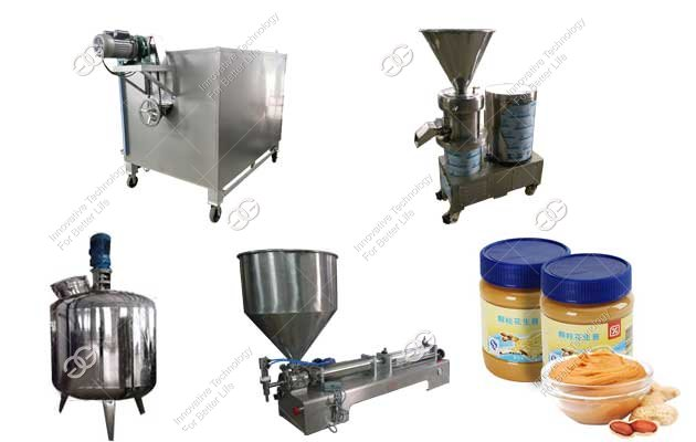 Commercial Peanut Butter Processing Machine Plant Price 300KG/H