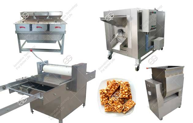 Automatic Peanut Candy Making Machine Manufacturer