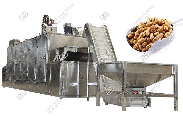 Commercial Nut Roasting Equipment|Peanut Roasting Machine Price