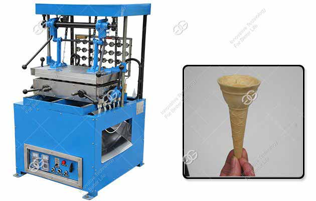 Industrial GELGOOG Ice Cream Cone Machine For Sale