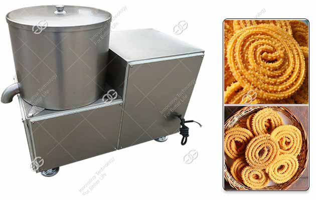 300KG/H Automatic Murukku Chakli Deoiling Machine with Stainless Steel