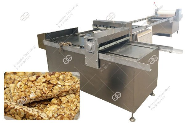 Industrial Peanut Brittle Bar Forming and Cutting Machine
