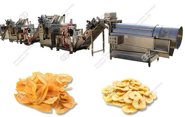 Price of Automatic Banana Chips Making Machine 1000KG/H