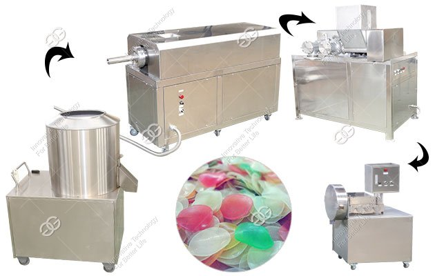 High Efficiency Prawn Cracker Production Line in China