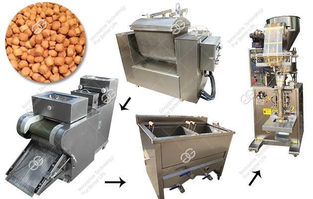 GELGOOG Chin Chin Snack Production Line in Nigeria