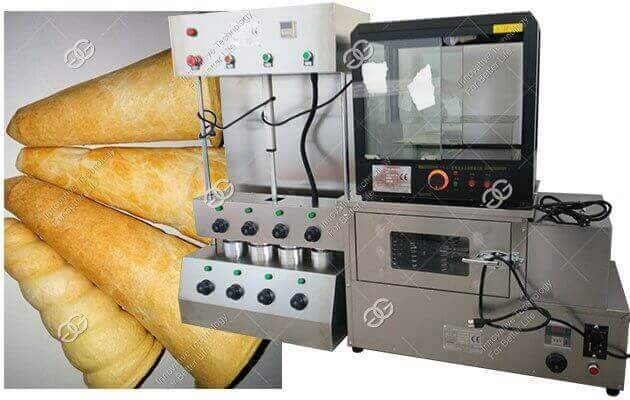 Low Price of Automatic Pizza Cone Making Machine in India