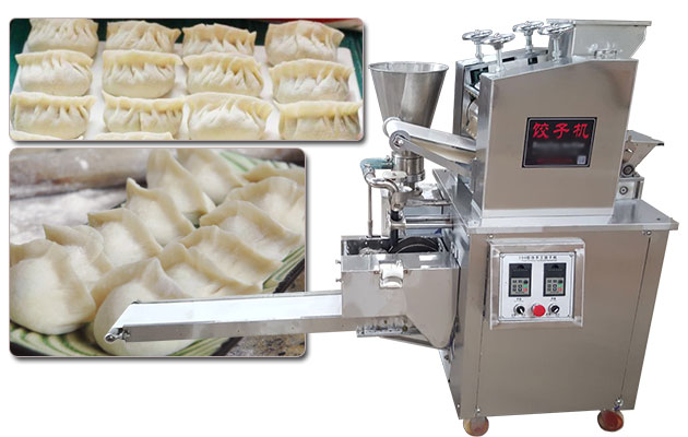 Automatic Chinese Dumpling Maker Machine Imitation Handmade