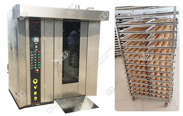 Electric Automatic Biscuit Baking Oven for Bakery