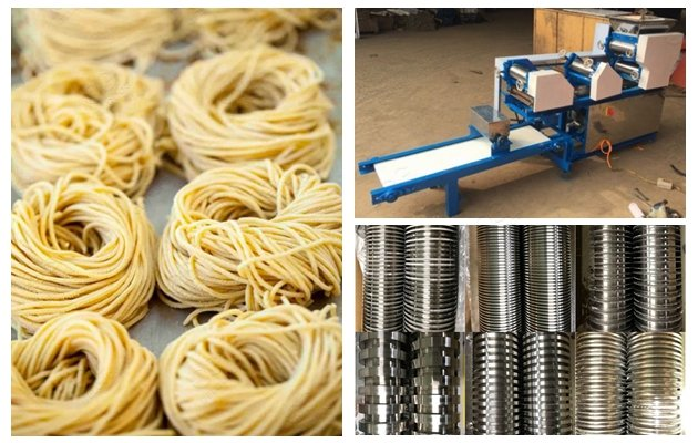 510KG Fresh Noodle Ramen Making Machine with 201 Stainless Steel