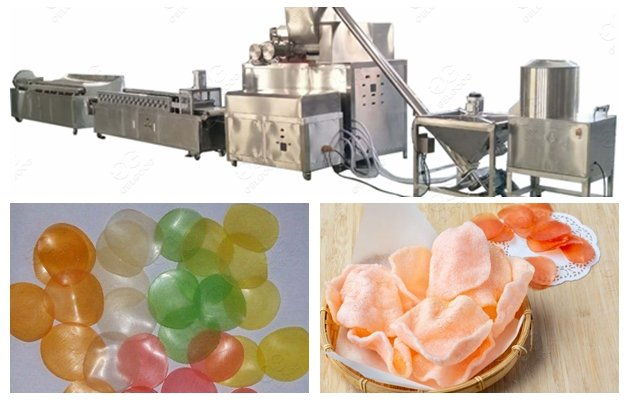 High Quality Shrimp Puffs Snacks Making Machine in Low Price