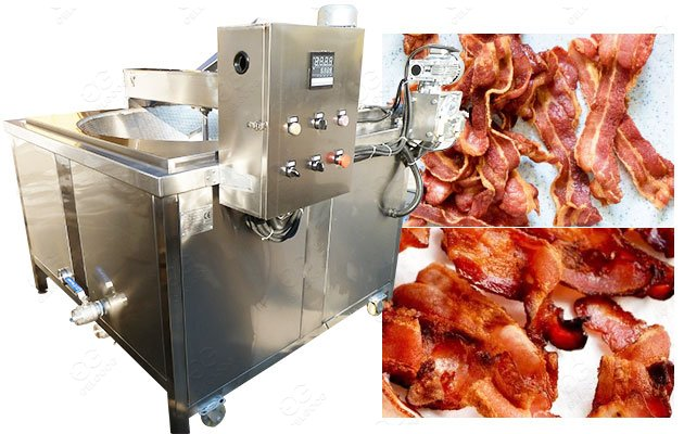 Electric & Gas Crispy Bacon Fryer Machine 100KG/Hour