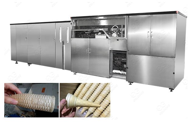 Fully Automatic Ice Cream Wafer Cone Production Line