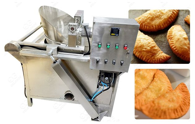 Polish Pierogi Frying Machine with Stainless Steel 304
