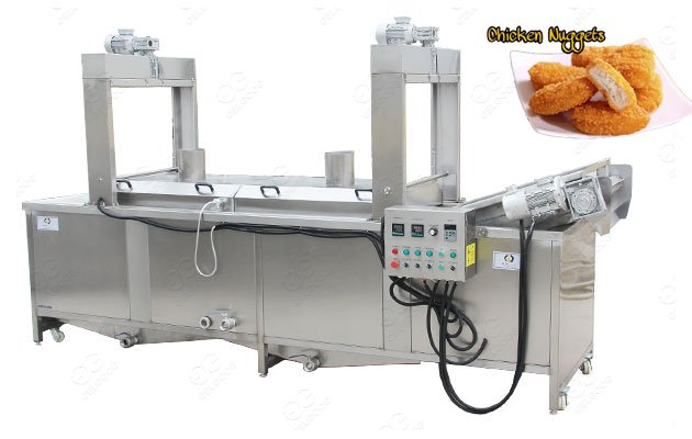 Automatic Chicken Wings Frying Machine|Chicken Nuggets Fryer Price