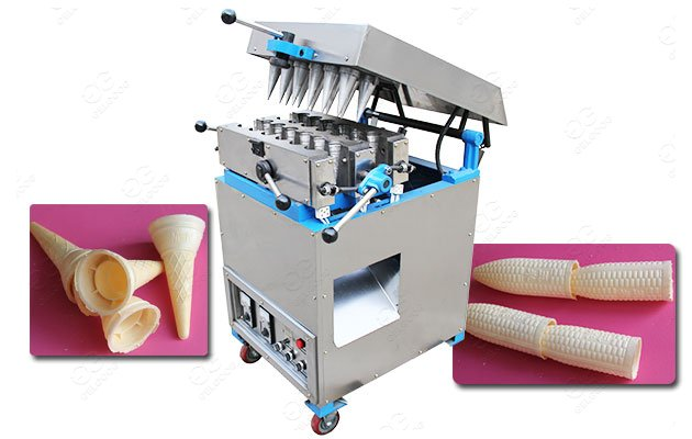 12 Mould Commercial Ice Cream Cone Maker Machine For Sale