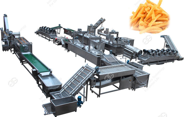 Frozen French Fries Processing Line