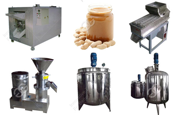 Hot Sell Continuous Peanut Butter Production Line(100 kg/h)