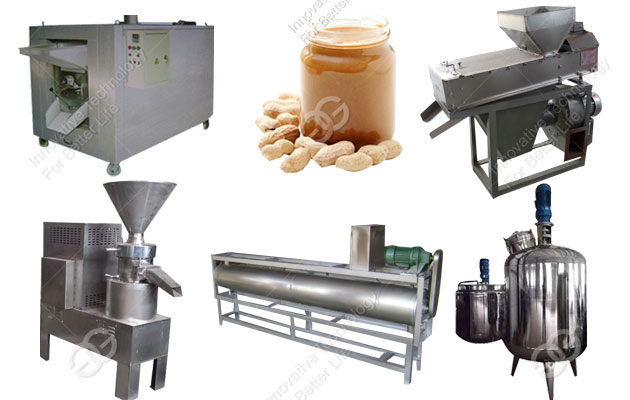 Peanut Butter Manufacturing Plant