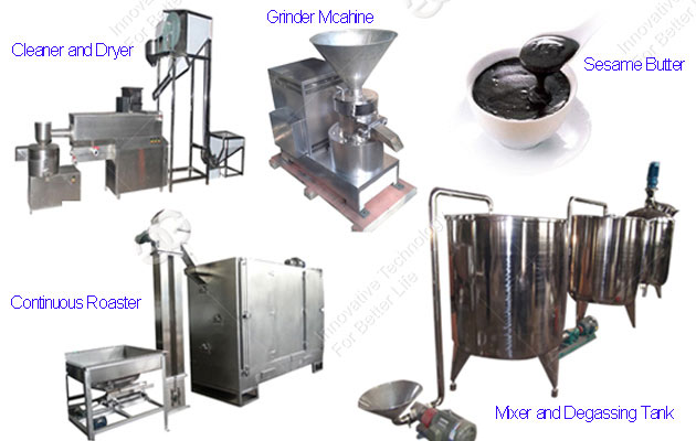 Sesame Paste Production Line