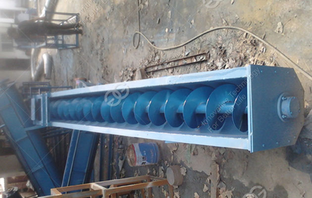Screw Conveyor Cleaning Machine