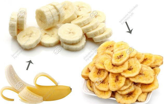 plantain chips production process