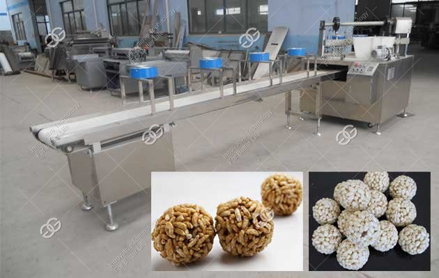 puffed rice ball making machine