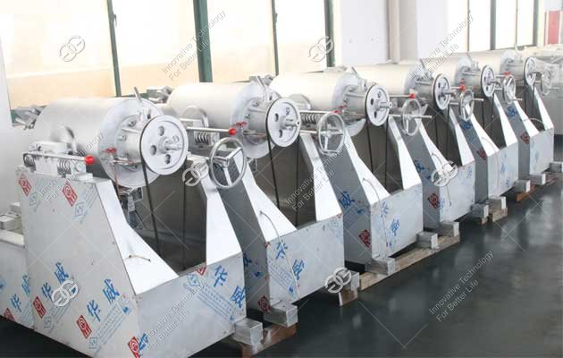 commercial puffed rice ball machine