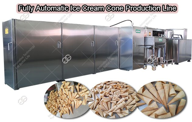 Automatic Sugar Cone Making Machine