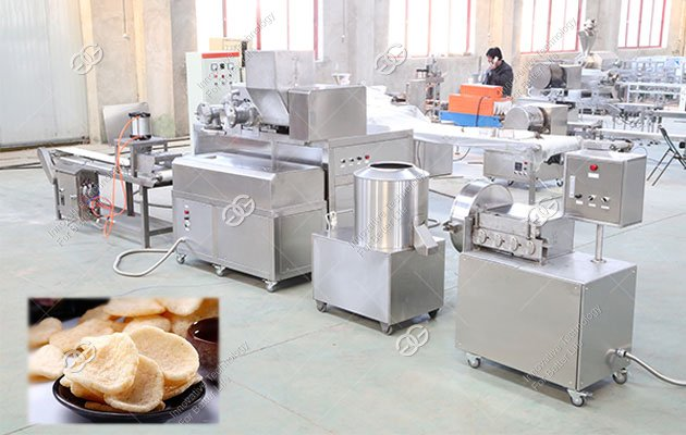 Prawn Cracker Production Machine