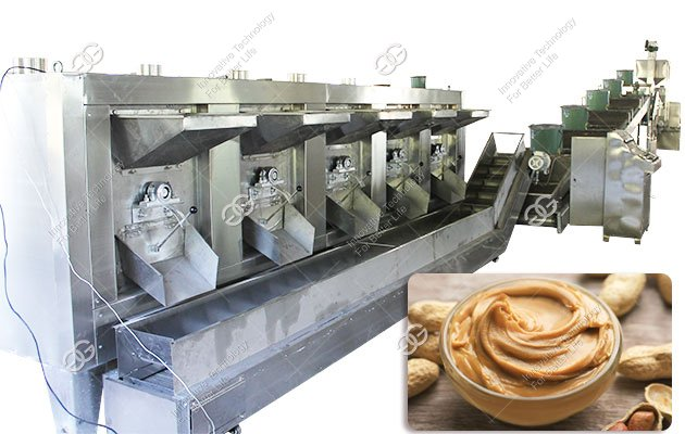 Automatic Peanut Butter Processing Line