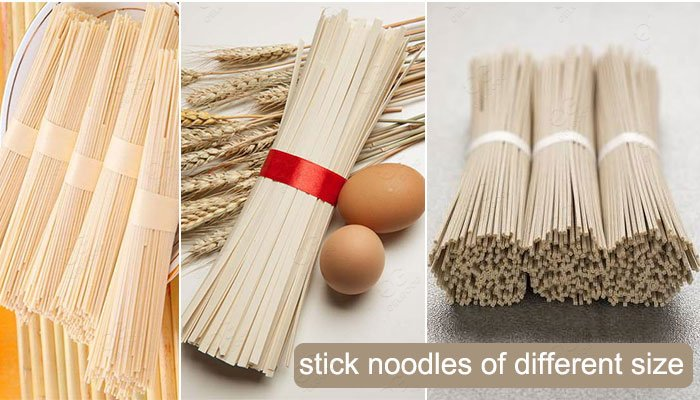 Different Types of Stick Noodles by Stick Noodle Maker