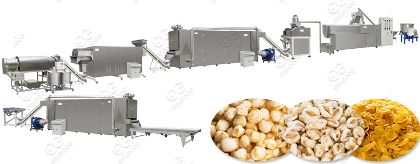 Breakfast Puffed Grain Making Machine
