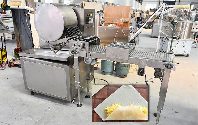 Spring Roll Wrapper Making Machine Automatic